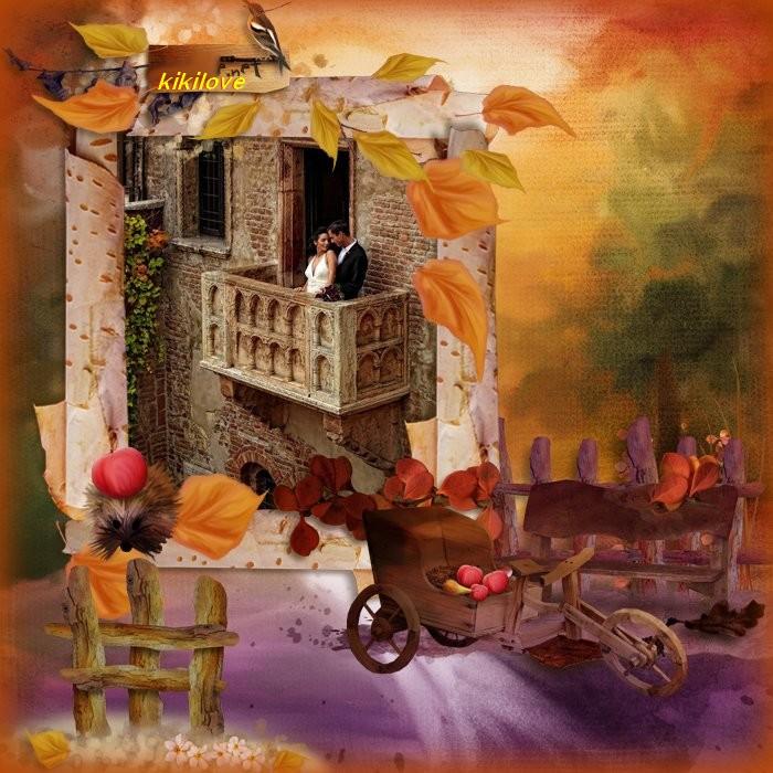 Voilà fin de semaine avec l'automne qui arrive