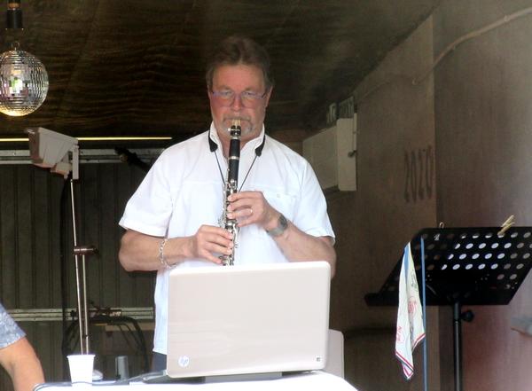 La fête de la musique 2020  chez Denis Bourtequoy à Château-Gaillard...
