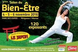 04  05  06  Novembre  2016  Salon Bien Etre   PERIGUEUX 24
