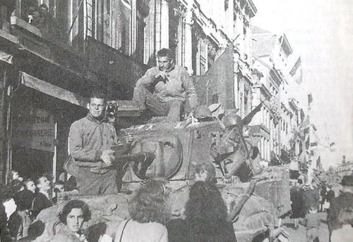 Photos de la libération de la Belgique (9).