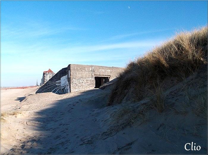 L'un des blockhaus de Bray-Dunes