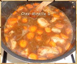 Sauté de Veau Carottes et Champignons