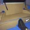 isolation phonique de la banquette arrière avec un isorel mou de 10mm