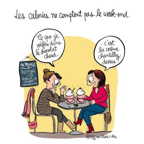 Illustration par Crayon d'Humeur pour Charles & Alice : « De toutes les passions la seule vraiment respectable me paraît être la gourmandise » - Guy de Maupassant - #gourmandise