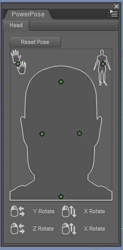 Points de contrôle pour la tête