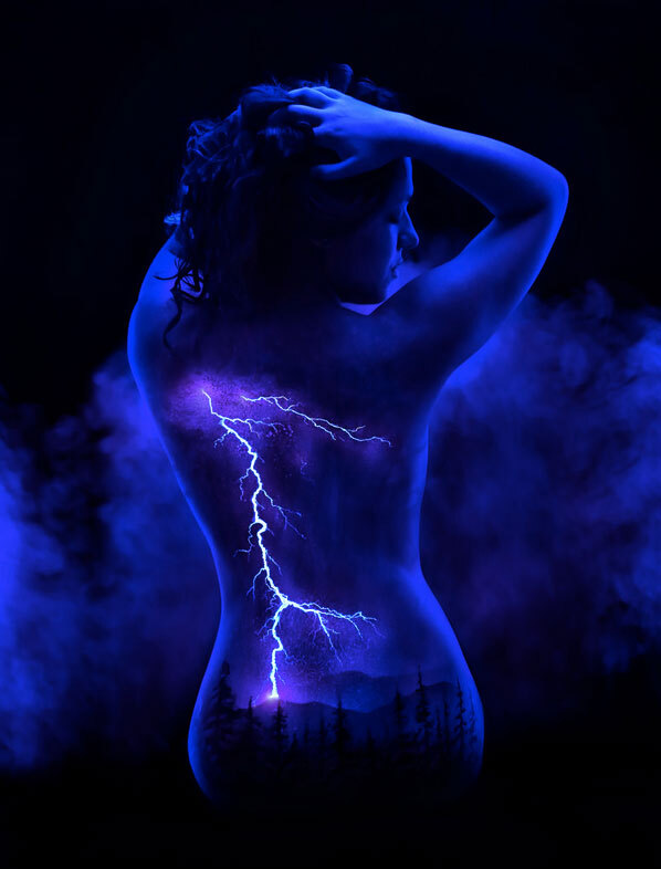 body-painting-orage
