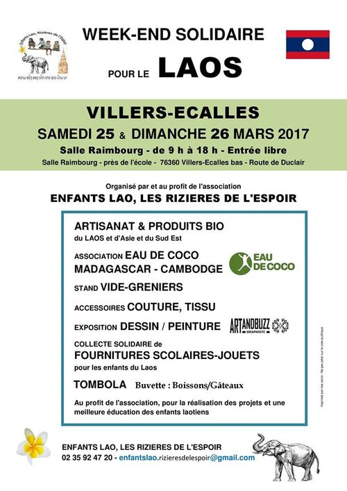 Affiche - Week end solidaire 2017