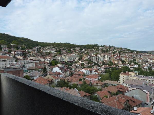Jour 12 - Veliko Tarnovo - Vue de la chambre de l'Hôtel Et