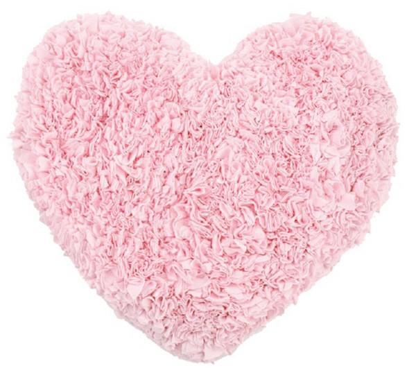Coeur rose pâle