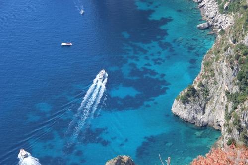 Capri : balade jusque la villa Jovis (nord-est)