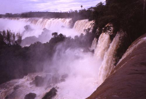 Les chutes d'Iguaçu côté Brésil et Argentine