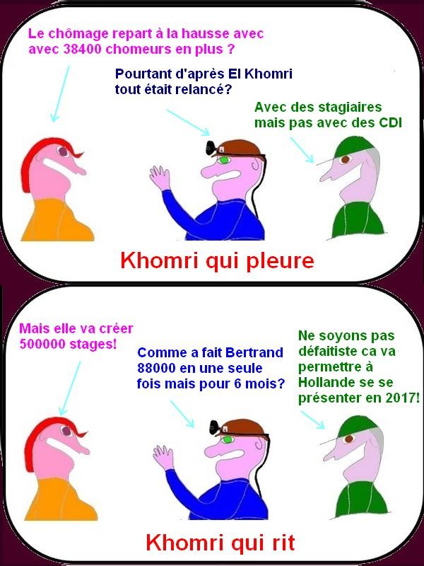 El Khomri qui rit , El Khomri qui pleure c'est la loi TGV!