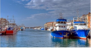 - Sète 12 -  Sète : la Venise languedocienne -
