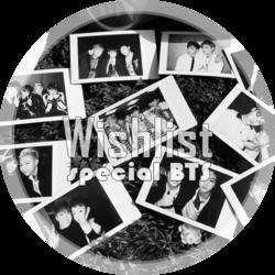 Wishlist : Spécial BTS