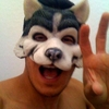 Photo Alex Meraz en loup (masque)