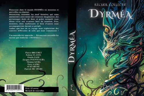 Couverture de Dyrméa, l'anthologie du @SFantastique 2017  @ElenyaEditions