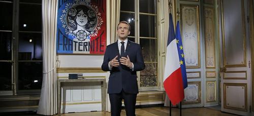 Macron déclare la guerre de classes en direct lors de ses vœux de fin d'année