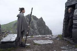 Star Wars - Les Derniers Jedi : Photo Daisy Ridley, Mark Hamill