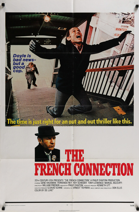 THE FRENCH CONNECTION BOX OFFICE 1971