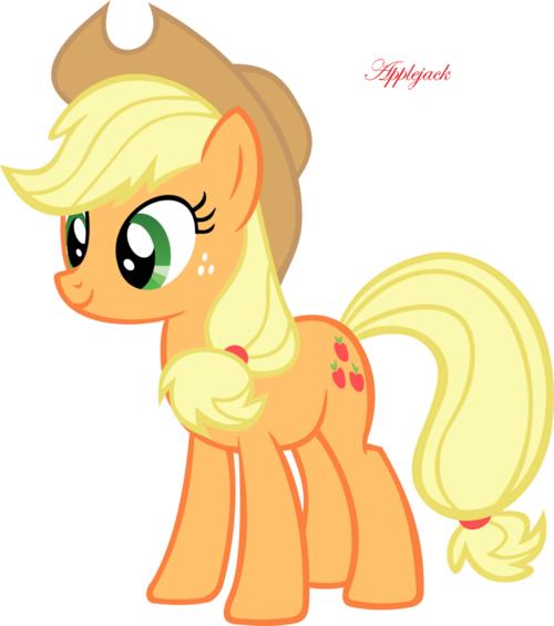 Les personnages de My litlle Pony