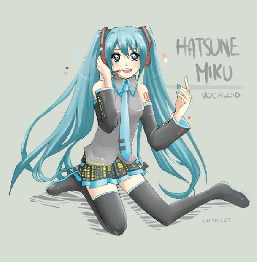 Encores des images de Hatsune Miku
