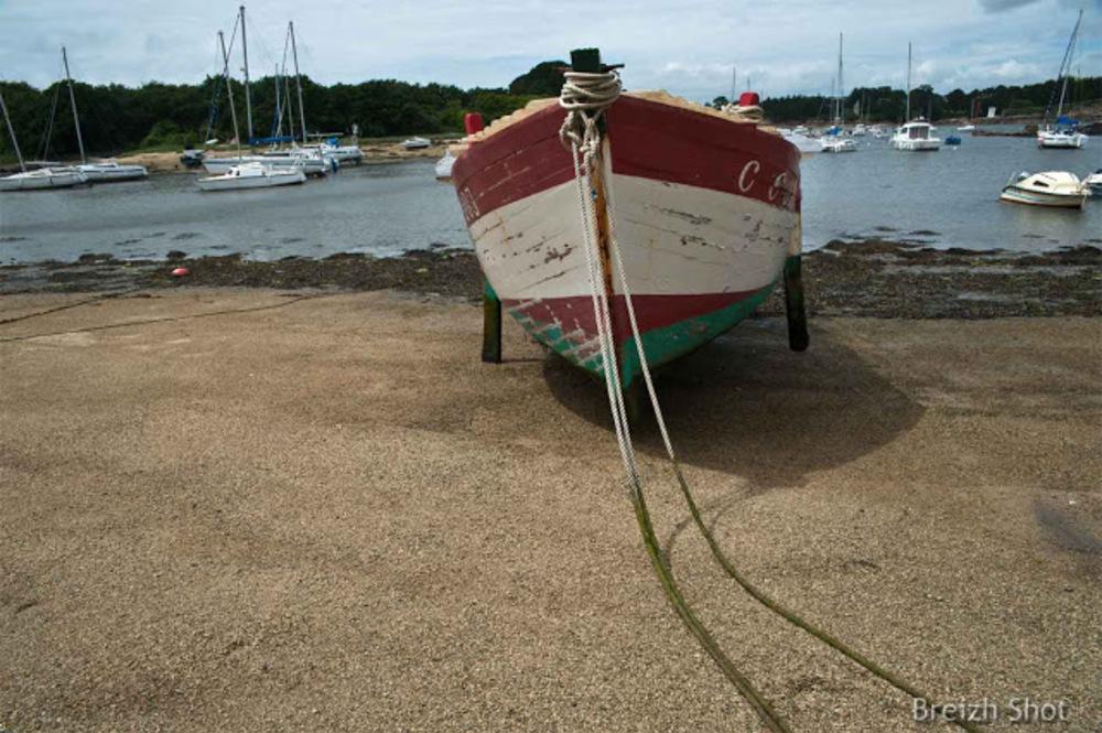 Porz an Halen, Trégunc, un vieux bateau à sauver