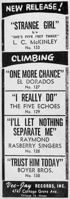 The Five Echoes (1) aka The Five Echos