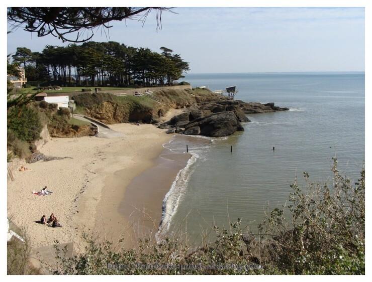 Sentier du littoral à Pornic