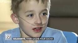 Wolu1200 : Sacha, atteint d'une maladie rare, pourra se faire soigner aux USA: