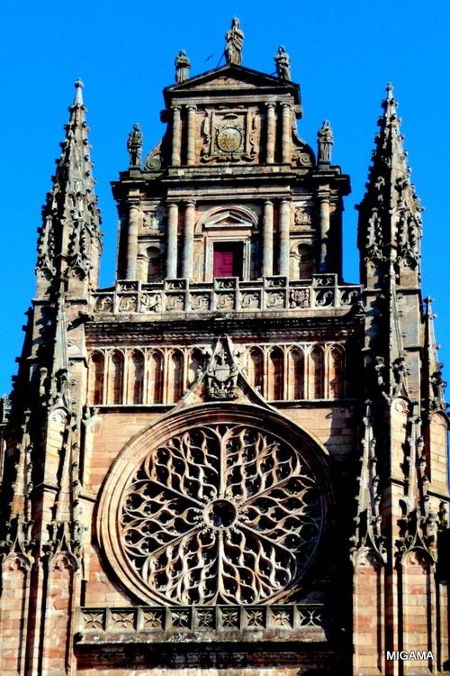 Rodez : la cathédrale ...