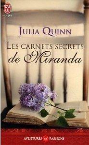 Les carnets secrets de Miranda de Julia Quinn
