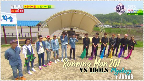 Running man épisode 201 「VS IDOLS」
