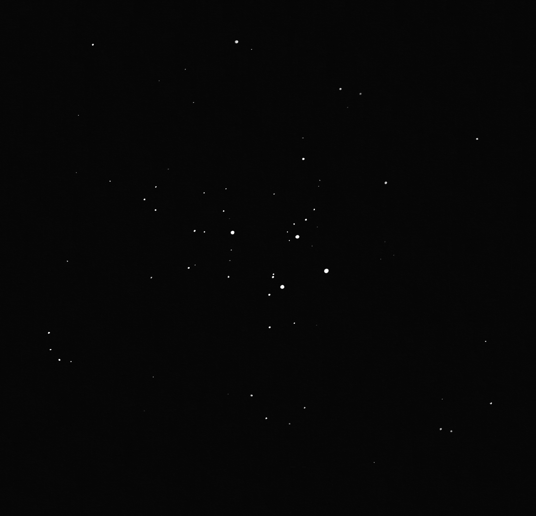 M23 open cluster