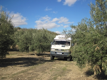 022 Espagne Repas midi après Murcia