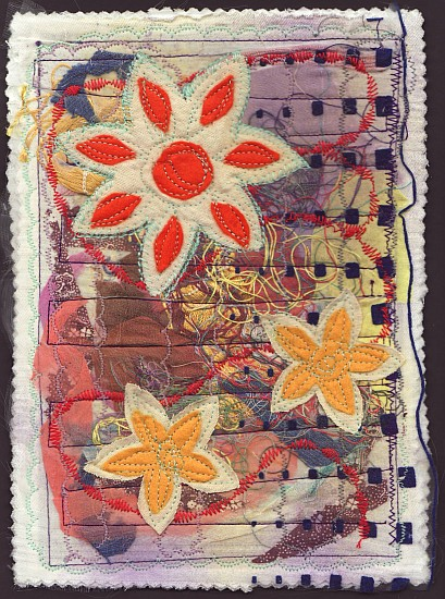 Art journal textile