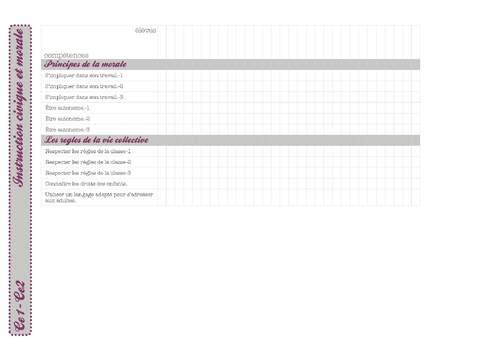 livret d'évaluation synthétique pour la classe-ce1 ce2