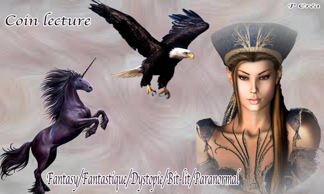 Créa pour blog lectures Fantasy/Fantastique/Dystopie/Sf/Paranormal/Bit-lit