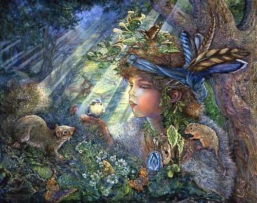 Peintures féeriques de : Joséphine WALL