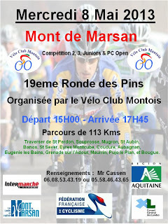 19éme Ronde des Pins 2013 à Mont de Marsan