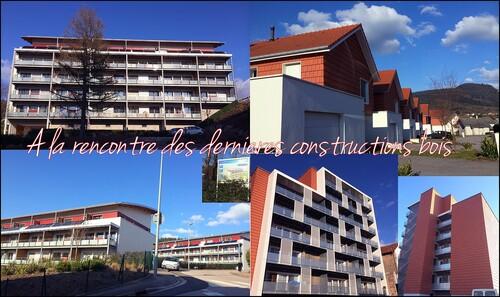 """Les constructions déodatiennes en bois """"made in"""" Toit Vosgien."""