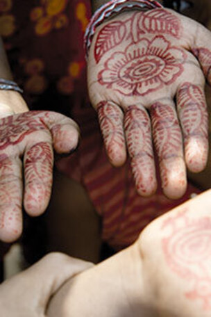 Les artisans en Orissa...