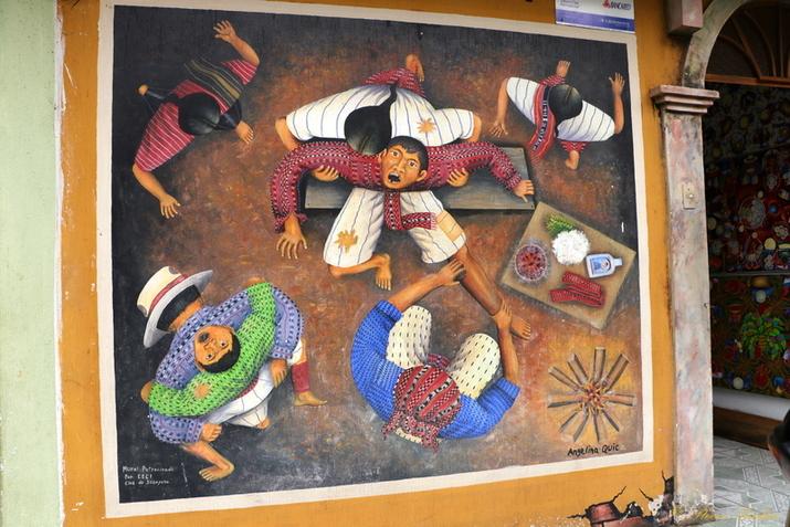 Street Art guatémaltèque