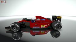 Team : Scuderia Ferrari SpA Ferrari 643