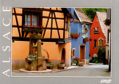 Alsace cartes postales