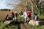 La randonnée du 16 décembre à Bénouville