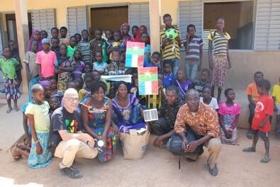 2 projets avec nos correspondants de Sayaro (Burkina Faso)