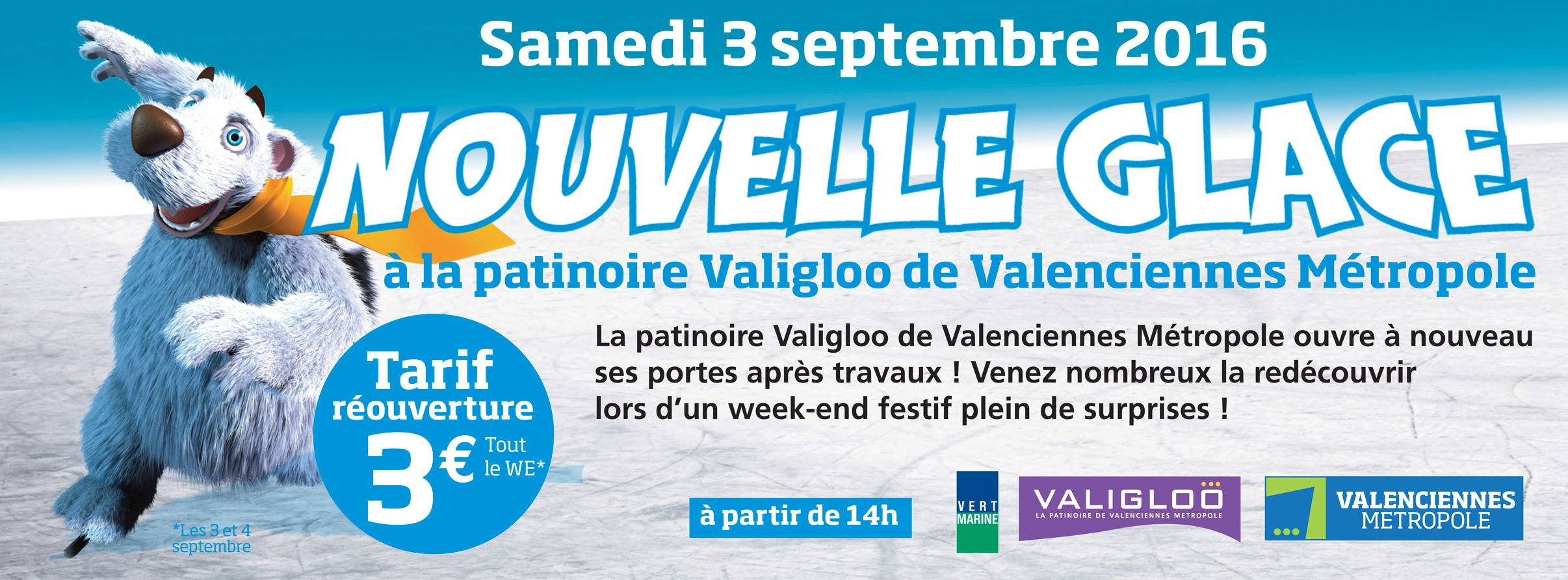 Patinoire Valigloo, à Valenciennes/Marly
