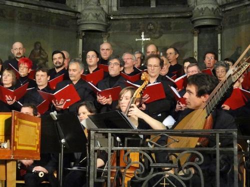 Un magnifique concert de Noël par le Choeur de Haute Côte d'Or et le Concert de l'Hostel Dieu...