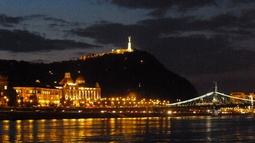 Palace of wonders, big market and trip on a boat on the Danube