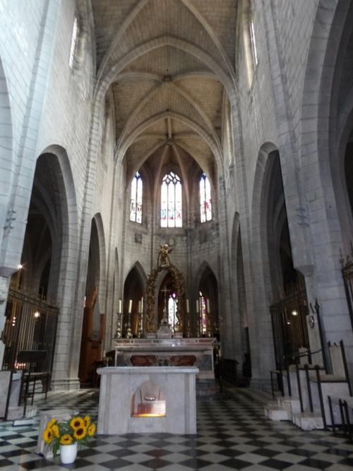 La cathédrale Saint-Pierre à Saint-Flour